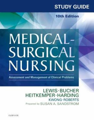 Study Guide For Medical Surgical Nursing (SKU 1031085421)