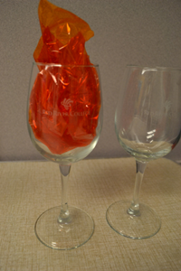 Wine Glass Rrc  Connoisseur Set Of Two Deep Etched
