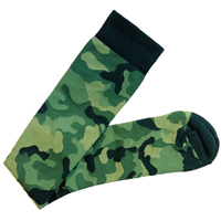 Socks Compression Nurse Camo One Pair