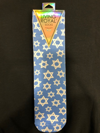 Socks Living Royal Hanukkah Stars
