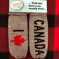 Mittens Message I Leaf Canada