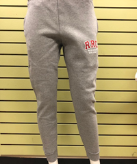 SWEATPANT UX  RED RRC w/WHITE CONTRAST