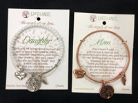 Gift Bundle Bracelet Charm Earth Angel