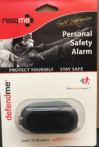 Safety Alarm Personal Defend Me