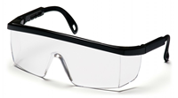 Safety Glasses Black Rim Csa Approved